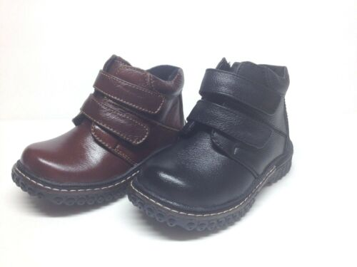 New Boy/'s Genuine Leather Sport Ankle Boots Size  7-11