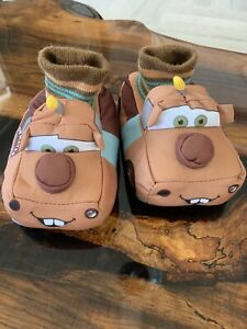 Tow Mater Slippers Size 5/6 Toddler | eBay
