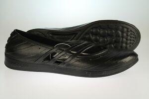 ADIDAS QT Comfort da donna Nero jellie scarpe ballerine taglia UK 4 5 6 7 8