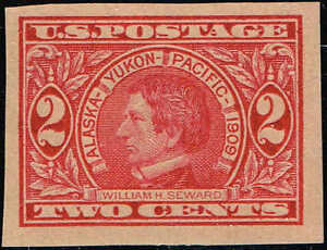#371 1909 2 CENT ALASKA-YUKON ISSUE MINT-OG/NH--VF/XF