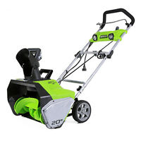 Greenworks 13-Amp Snow Thrower