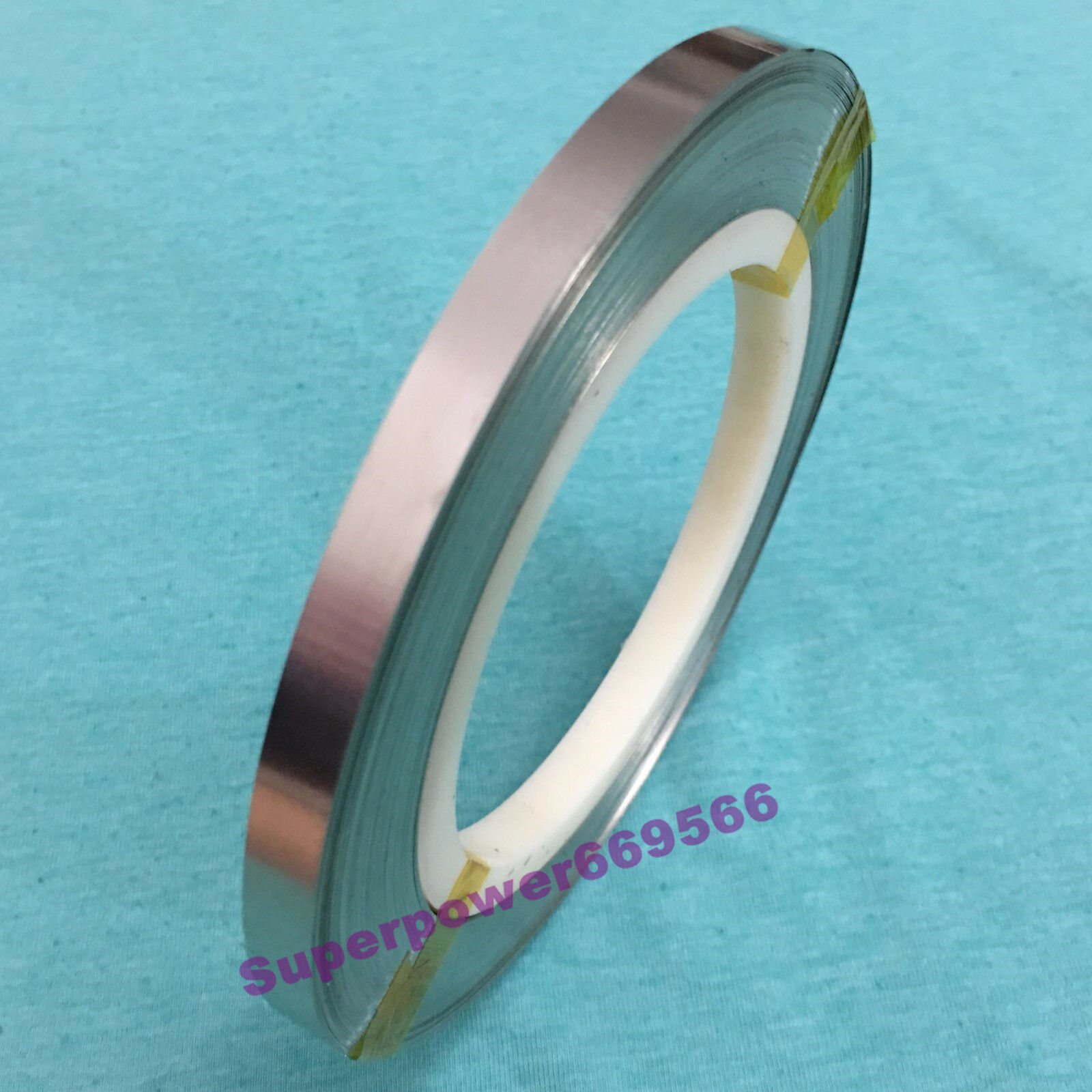 0.5KG (approx149FT) 8mm X0.15mmT Pure Nickel strip tape for battery welding