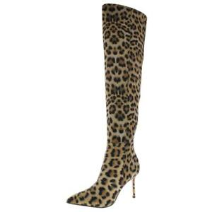 Katy-Perry-Womens-Idolize-Satin-Pointed-Toe-Over-The-Knee-Boots-Shoes-BHFO-2267