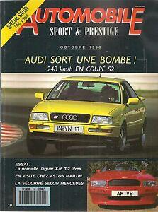 AUTOMOBILE-SPORT-amp-PRESTIGE-18-AUDI-COUPE-S2-PORSCHE-914-ASTON-MARTIN-VIRAGE-JAG