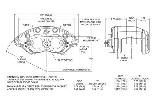 1958-68 Full size Chevy Disc Brake Kit w// BK Wilwood Calipers Booster Master