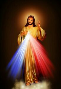 Holy-family-in-Holy-Land-amp-Divine-Mercy-5-Dimension-Hologram-Picture-Frame