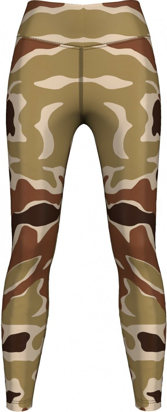 German Wear, Leggings Tights dehnbar Sport,Gymnastik,Training,Yoga,Tanzen, Camo