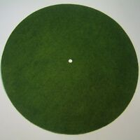 Victor Phonograph Small Light Green Turntable Felt - Round (fits 10 Diameter)
