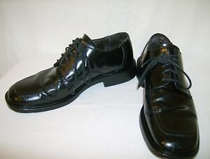 88ded3951a Kenneth Cole New York 8.5 M Mens Shoes Black Leather Oxfords Lace Up ...
