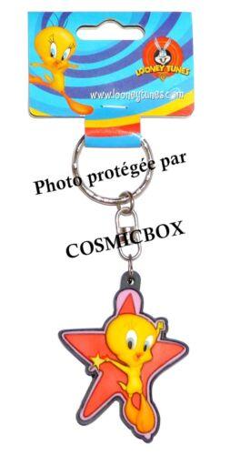 Porte clés TITI super star étoile rouge figurine WARNER BROS new keychain figure