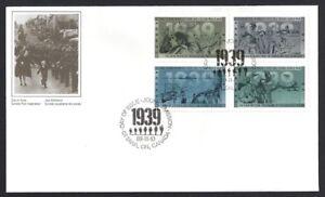 Canada-1260-1263-Block-a-SECOND-WORLD-WAR-1939-New-1989-Unaddressed