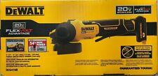 "5/"" Cordless Angle Grinder DeWALT DCG416B 20V MAX FLEXVOLT 4-1//2/"" Bare Tool"