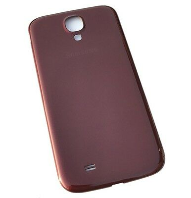 Generic Battery Door Rear Cover Back Housing Compatible with Samsung Galaxy S4 i337 Red