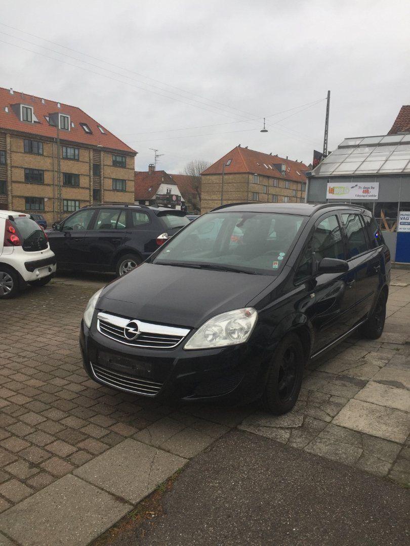 Opel Zafira 1,9 CDTi 150 Enjoy aut. 7prs 5d - 49.000 kr.
