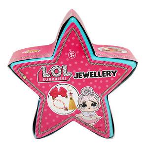 LOL Jewellery Surprise Star Dolls Make Up Girls Arts Craft Bracelets Accessories