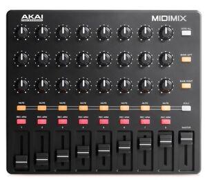 Akai-MIDImix-USB-MIDI-DAW-Mixer-Controller-w-Ableton-Live-Lite-Software