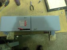GE ADS32100HS 100 AMP 240 VOLT 3 POLE  FUSIBLE PANELBOARD SWITCH
