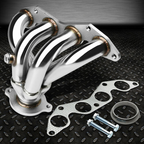 STAINLESS RACING MANIFOLD HEADER//EXHAUST 01-05 HONDA CIVIC EX 1.7L D17A2 4 CYL