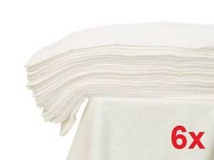 6x-large Mousseline Carré 70x80 Chiffon Blanc Bébé Couche Lavable Et Lingettes 100% Coton-afficher Le Titre D'origine Haute SéCurité