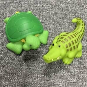 Fisher-Price-Little-People-GREEN-SEA-TURTLE-Crocodile-Animal-for-ARK-ZOO-SDUK