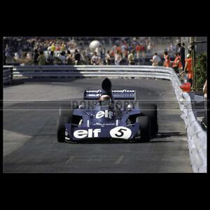 Photo A.008876 JACKIE STEWART TYRRELL-FORD GP F1 1973 GRAND PRIX MONACO