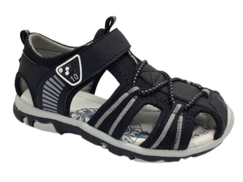 BOYS KIDS CLOSED TOE CASUAL BEACH WALKING SPORTS SUMMER SANDALS UK SIZE 8-13