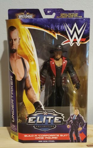 Mattel WWE Elite Collection WrestleMania XXX Undertaker Streak 21-1 Kane BAF