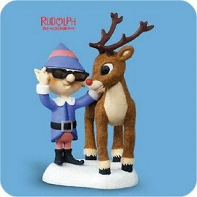 2006 Hallmark Ornament ~ Rudolph Nose So Bright *Magic QXG2756 NIB Tab
