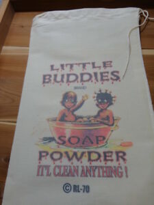 RL-70-LITTLE-BUDDIES-Flour-Bag-Sack-Feed-Seed-Novelty-Collectible