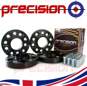 25mm-Bolt-On-Hubcentric-Wheel-Spacers-2-Pairs-for-Mini-Countryman-2011-On-Alloys