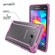 POETIC Dual material Protective Case Cover for Samsung Galaxy Grand Prime Pink