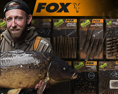 Fox Edges Camo Terminal Tackle /& Accessories Range