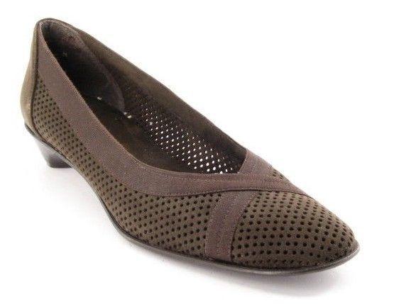 fabbrica diretta New STUART WEITZMAN donna Suede Evening Dress Dress Dress Kitten Heel Pump scarpe Sz 9 N  distribuzione globale