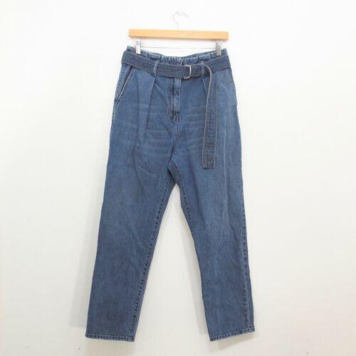 27 - IRO Pablo Blue Medium Wash Straight Leg Belte
