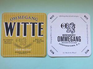 Bière Dessous De Verre ~ Brewery Ommegang Bouteille Witte ( Blé) Ale ~ Qwv65kox-08000523-287917391