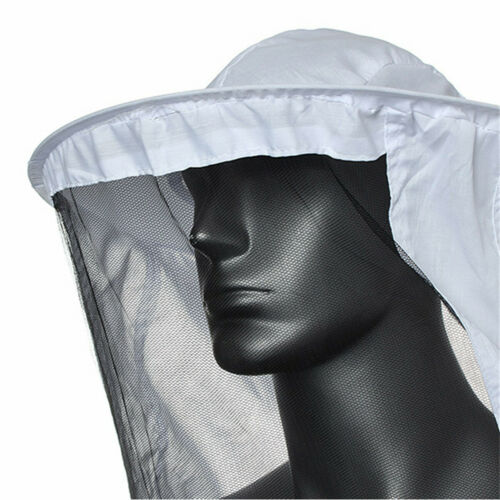 Beekeeping Jacket Veil Bee Keeping Suit Pull Over Smock Protection W// Outfit Hat