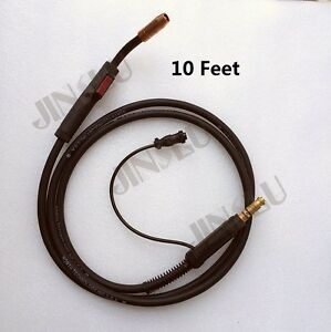 180A-10-Feet-Replace-Lincoln-Magnum-100L-K530-MIG-Gun-Torch-Stinger