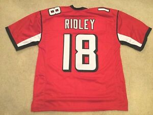 best sneakers 46c21 58fc5 Details about UNSIGNED CUSTOM Sewn Stitched Calvin Ridley Red Jersey - M,  L, XL, 2XL
