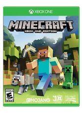 Minecraft - Xbox One  (Microsoft Xbox One, 2015) Brand New