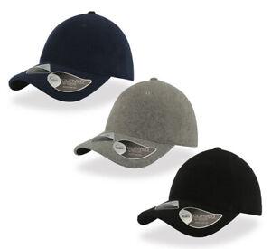 Atlantis-Warme-Baseball-Fleece-Cap-Herren-Uni-Basecap