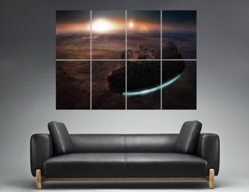 Star Wars Millennium Falcon 02 Wall Plakat groß format A0 Druck