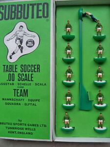 Subbuteo Team Hw Ref N. 157 joueurs mexicains et boîte longue en parfait état