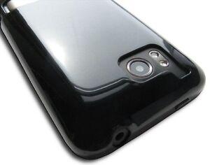 Gloss-Black-TPU-Crystal-Skin-Case-Cover-HTC-Thunderbolt