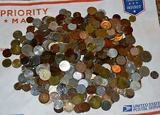 5 LBS. WORLD COINS lot UNSEARCHED mixed countries pounds H world foreign