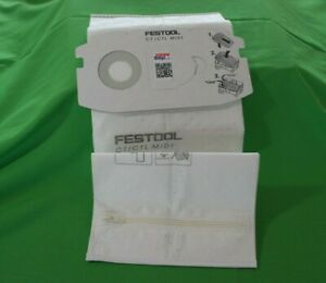 SC FIS-CT MIDI Festool Filter Bag CT//CTL Midi  With Zipper
