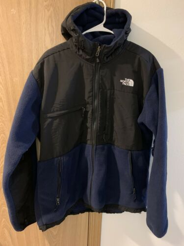 north face denali hooded jacket XL