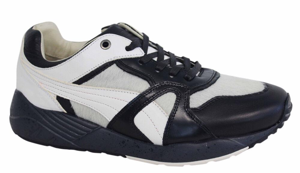 Puma Trinomic XS500 X miitaly Homme Noir Blanc P2- Lacets Baskets 357262 01 P2- Blanc 37011c