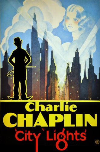 8290.Decoration Poster.Home Room design art print.Charlie Chaplin City Lights