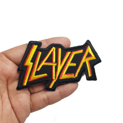 100 pcs Punk Rock Heavy Metal Music Mix Band Sew Embroidered Iron on Patch
