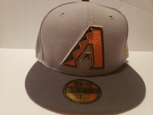 New Era Arizona Diamondback/'s Custom Fitted Hat Cap Copper Foamposite/'s Foams